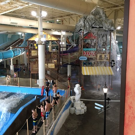 Avalanche Bay Indoor Waterpark Boyne Falls 2018 All