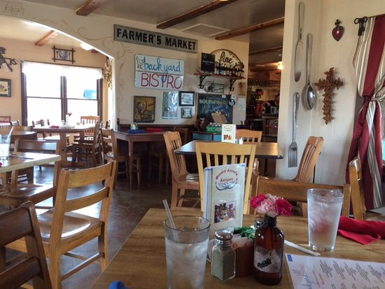 Backyard Bistro Restaurant interior - picture of backyard bistro, pipe creek - tripadvisor