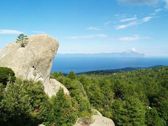 Sithonia, Greece: Mount Itamos