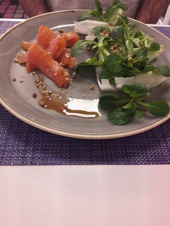 Ury, France: Saumon gravlax