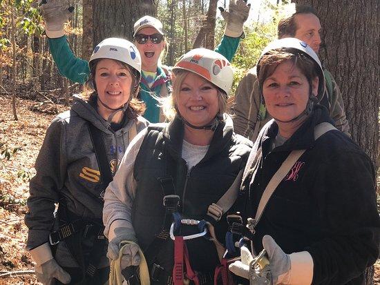 Zipline Canopy Tours of Blue Ridge: We did it!