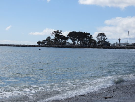 Dana Point, Kalifornien: View from sandy beach