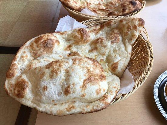 Hoheikyo Onsen: Nann Bread