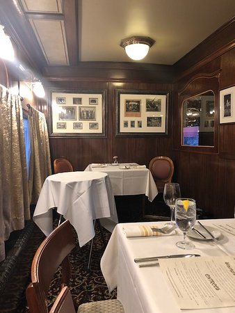 DuBois, PA: Ladies' Parlor in the Parlor Car