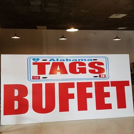 Rogersville, AL: Tags Buffet