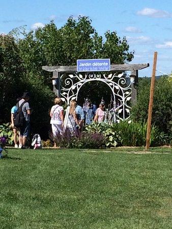 Stanstead, Canadá: Entrance to Jardin détente