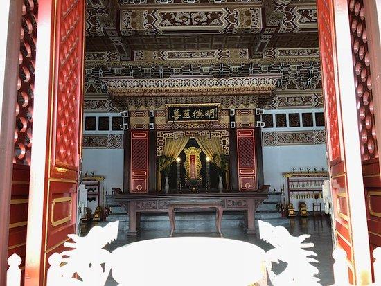 ConfuciusTemple Martyr's Shrine: Ornate Adornments