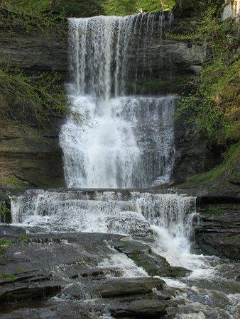 Skaneateles, NY: Lower falls