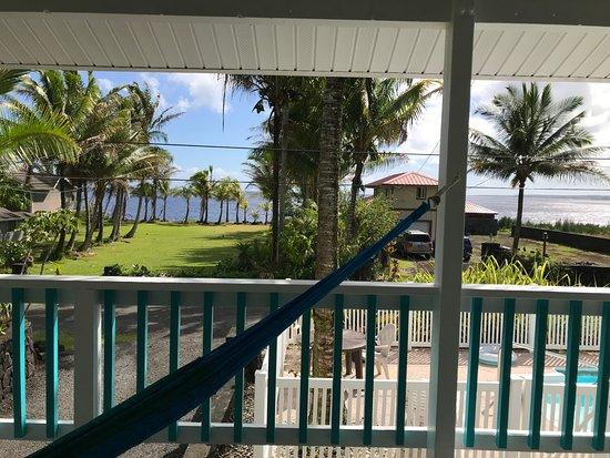 Keaau, Hawái: View from lanai