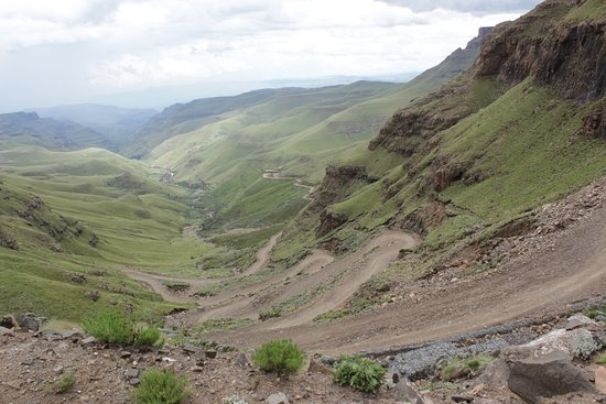 Sani pass from the top