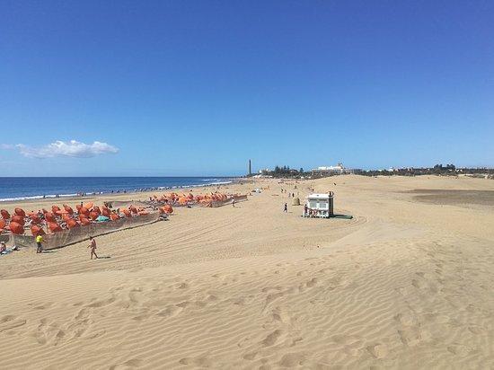 Playa de Maspalomas: Playa de Maspaloma