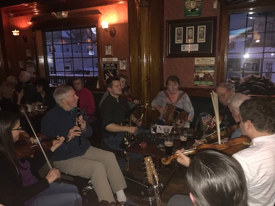 Hamden, CT: The Irish band entertains.