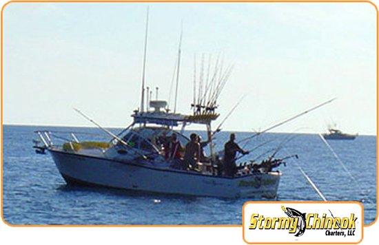 Stormy Chinook Fishing Charters