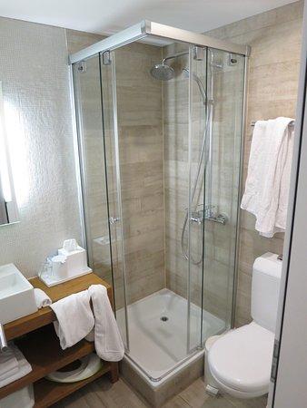 Albinen, Schweiz: Dusche