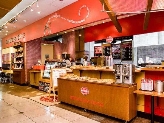 APA Villa Hotel Kanazawa Katamachi : 朝食会場;シアトルズベストコーヒー