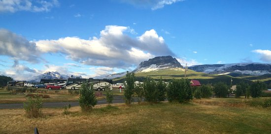 Saint Mary, MT: A Great Day for Camping!