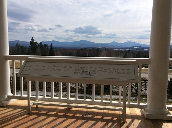 Whitefield, NH: View from the porch.
