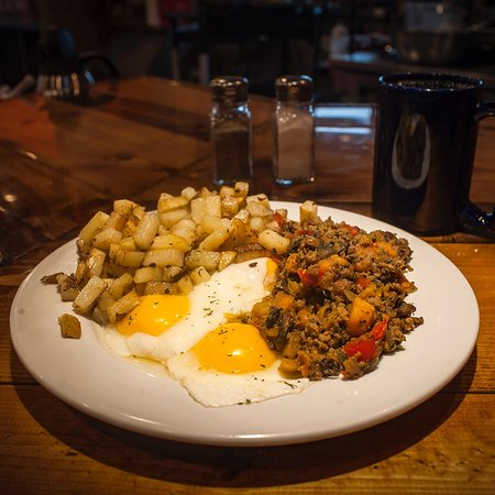 Barboursville, Batı Virjinya: Oscar's Breakfast, Burgers & Brews