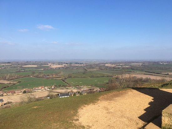 Stoke sub Hamdon, UK : View fro Ham Hill