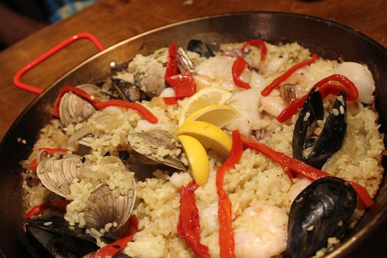 Palisade, CO: Authentic Spanish Paella (seafood)
