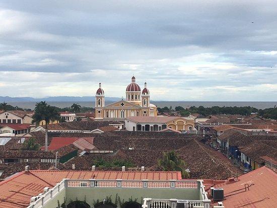 Granada, Nicaragua: Looking towards the lake