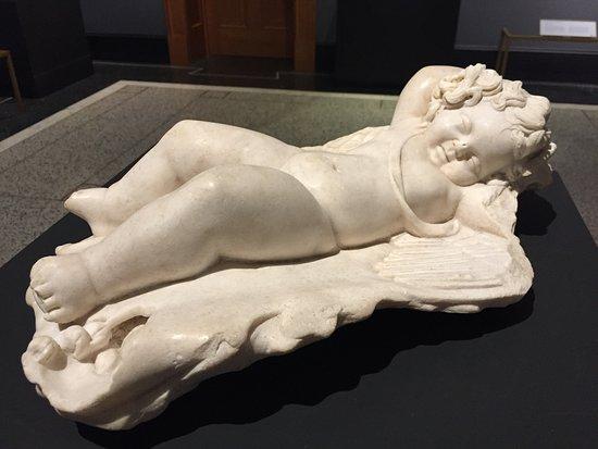 The Getty Villa : Cupid marble