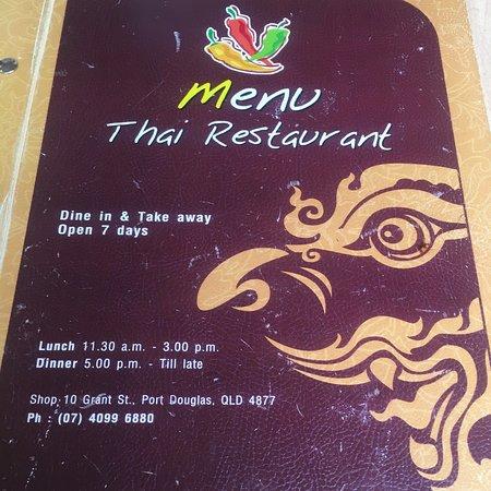 Menu Thai Restaurant : photo4.jpg