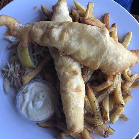 Sutton, Kanada: Bass, fish and chips