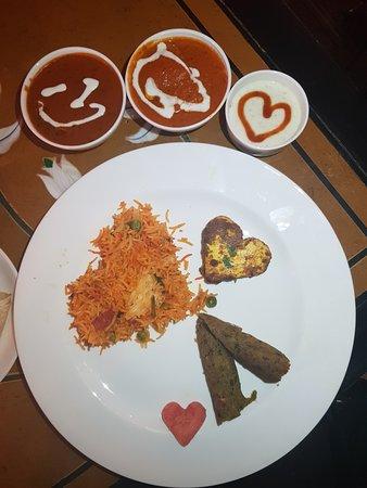 Veda: Chicken Love Thali