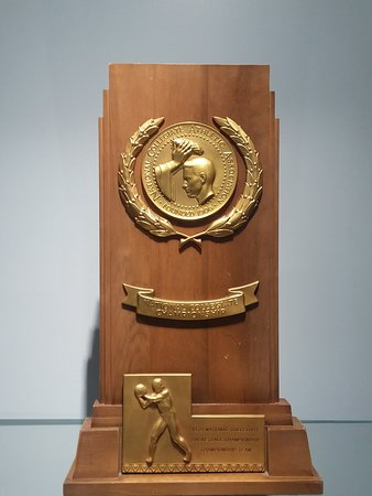 Jack Breslin Student Events Center: 1979 Championship Trophy