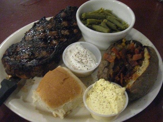 Yelm, WA: Boneless New York Steak (14 Oz.)