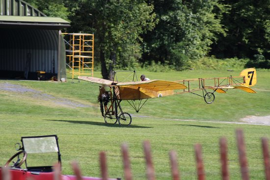 Red Hook, NY: Bleriot On Takeoff Roll, Old Rhinebeck Aerodrome