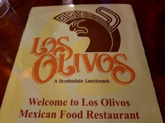 Los Olivos Restaurant Scottsdale Menu