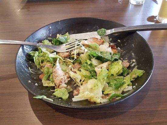 Beaudesert, Australia: Sad looking and tasting Caesar salard