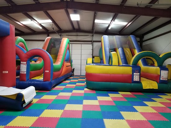 Sanford, NC: The Inflatables!!