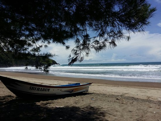 Blitar, Endonezya: pantai