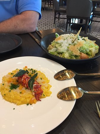 The Lobster Risotto Was Delish But Very Skimpy On The
