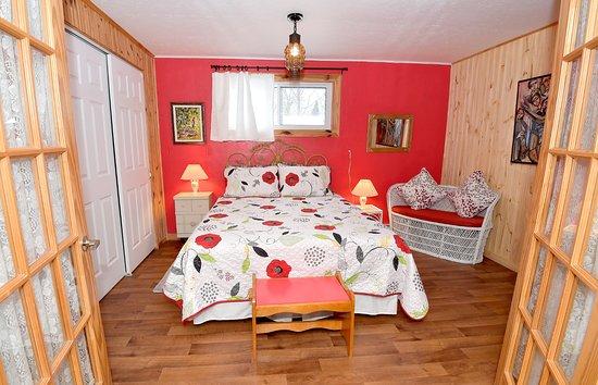 Chambre Verte (lit double) - Photo de Gite Bellevue, La ...