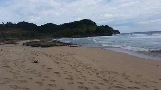 Tulungagung, Indonesien: pantai