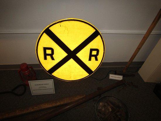 Prairie du Chien, Висконсин: The railroad sign