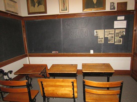Prairie du Chien, Висконсин: The classroom