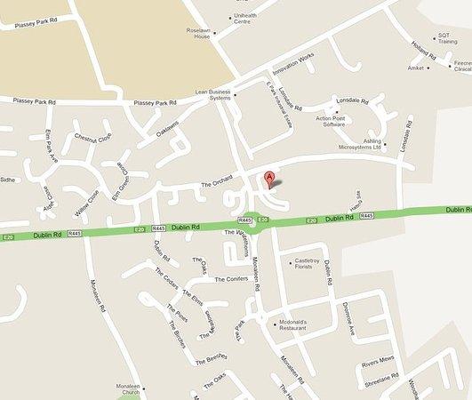 Castletroy, Irland: Map