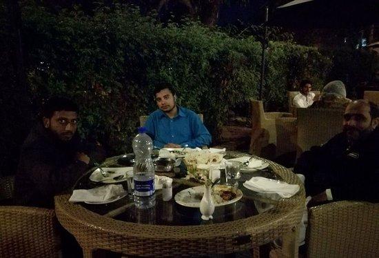 Treat from Amir Raheed at Tandoori G.8 Islamabad.