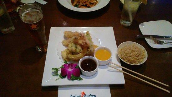Asian Bistro: vegetarian veggies