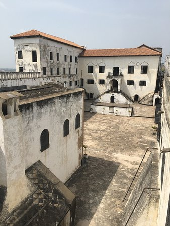 Elmina Castle: View from the top