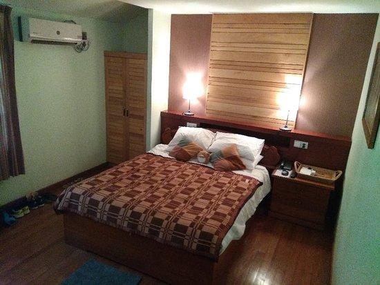 El mejor hotel en el que estuvimos en myanmar