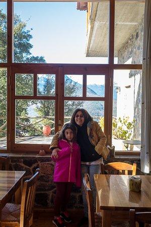 Goura, Greece: χώρος πρωινού