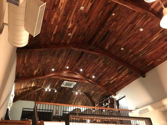 Classic High Roof Wooden Ceiling Indoor Picture Of Meraaki Kitchen
