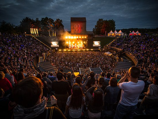 Vaud, Suisse : Festival Rock Oz'Arènes dans les Arènes d'Avenches