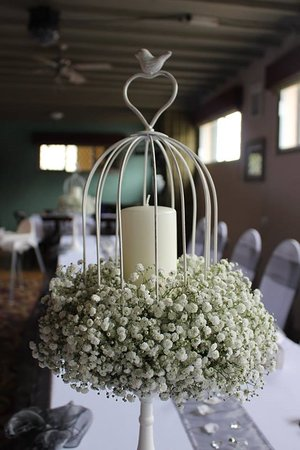Ullesthorpe, UK: Wedding table